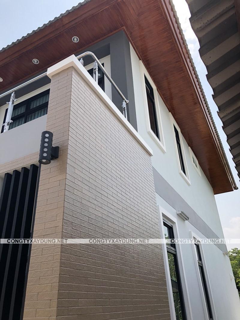 Mẫu nhà 2 tầng 8x8 m2