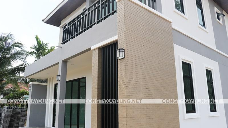 Mẫu nhà 2 tầng mặt tiền rộng 7m
