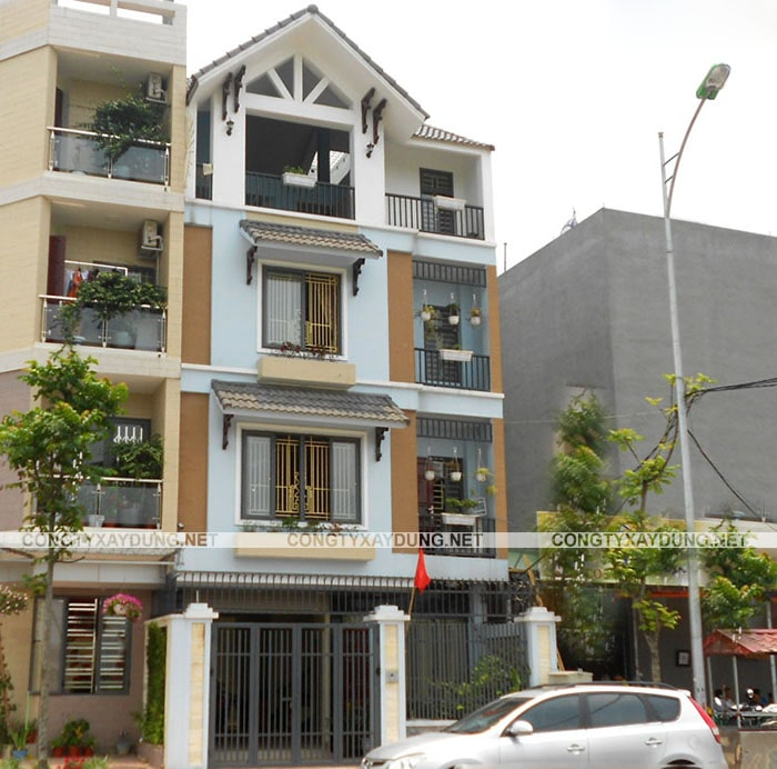 Thiết kế nhà 7x11 m2
