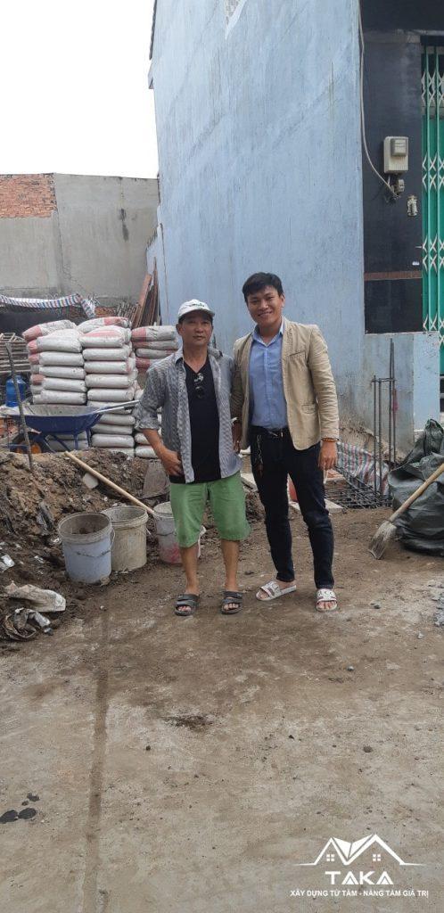 Thi công nhà phố Anh Hùng   Bình Tân   Tp.HCM