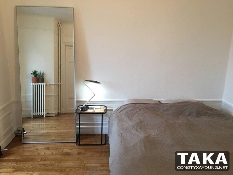 Thiết kế nội thất căn hộ chung cư 50m2 1 phòng ngủ
