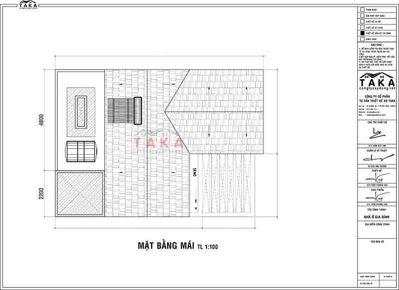 Bản vẽ mặt bằng nhà 3 tầng tầng 7x12m tân cổ điển