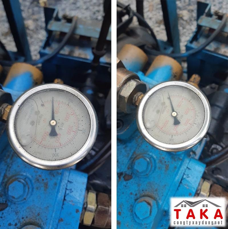 Đồng hồ thủy lực của giàn ép tải