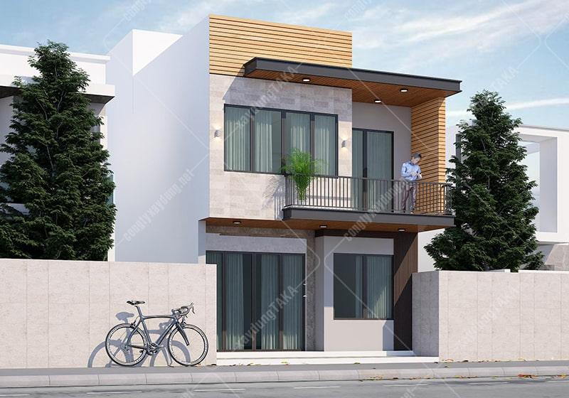 Thiết kế nhà phố hiện đại