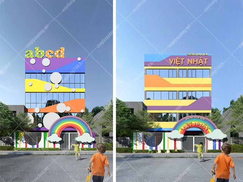 Thiết kế trường mầm non Việt Nhật - Quảng Nam