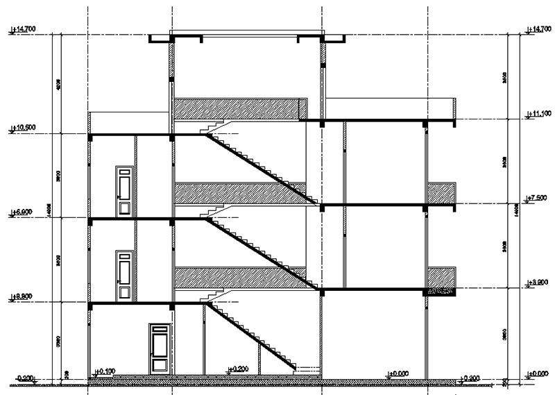Quy định chiều cao tầng nhà phố