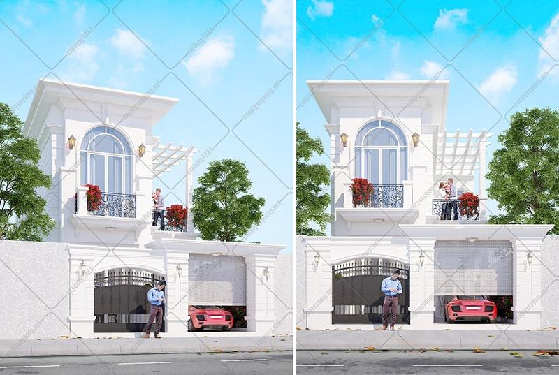 Mẫu thiết kế nhà ngang 6m dài 15m