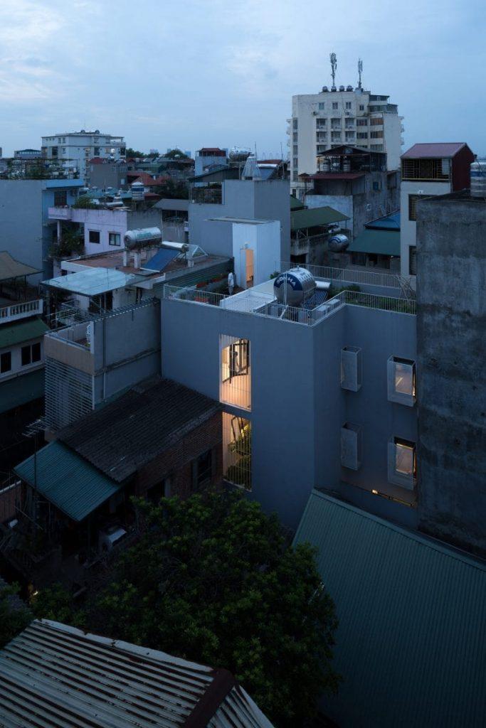 Thiết kế nhà phố trong hẻm nhỏ