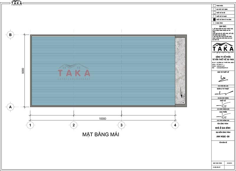 Bản vẽ mẫu nhà cấp 4 có gác lửng 5x10 400 triệu
