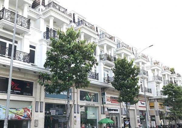 Hình ảnh nhà phố liền kế Cityland Gò Vấp