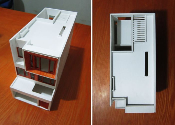 Mẫu biệt thự 3 tầng mặt tiền rộng 7,5m hiện đại