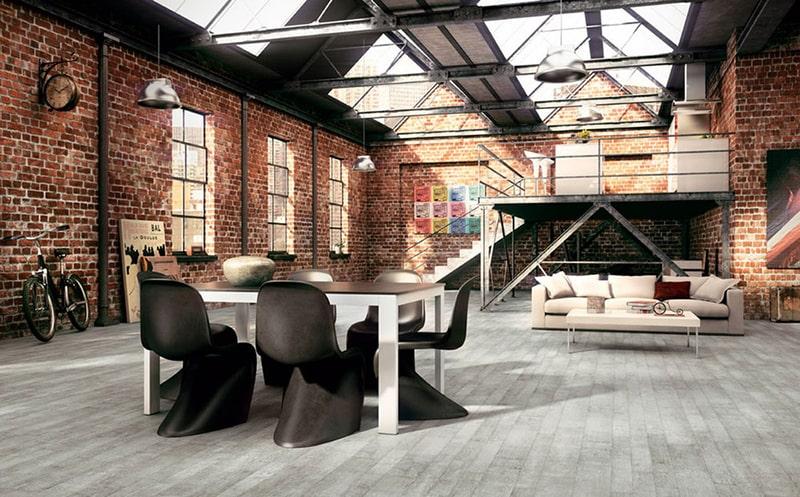 Phong cách thiết kế industrial công nghiệp