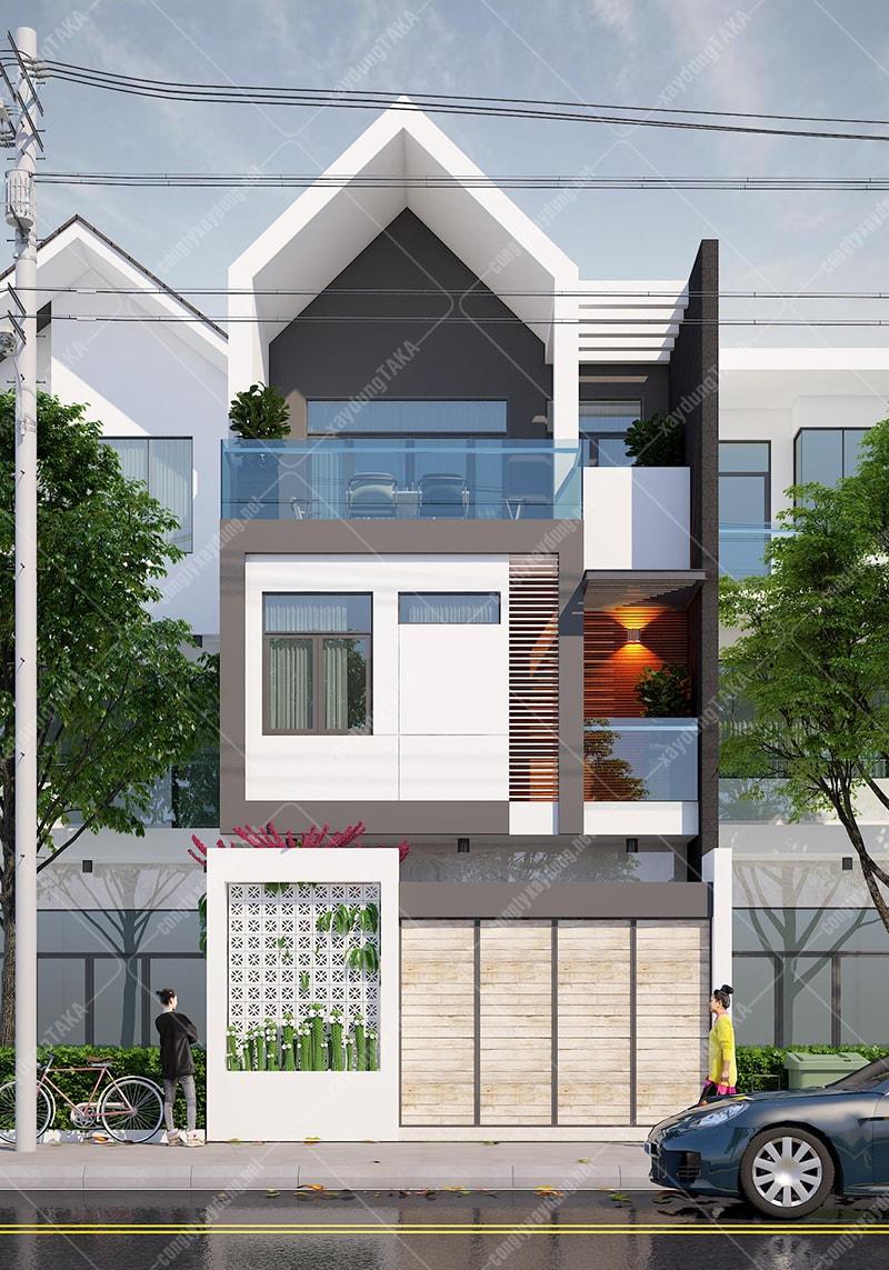 Thiết kế nhà phố 6x11m
