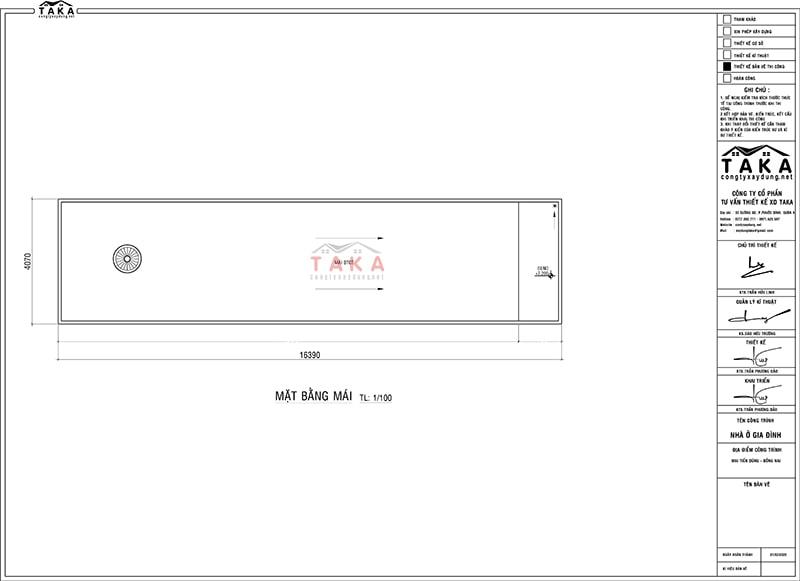 Bản vẽ mặt bằng nhà phố 1 trệt 1 lầu 4x16m hiện đại