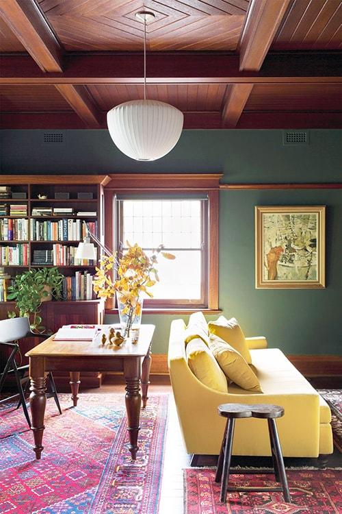 Màu sơn nội thất nhà đẹp 2020