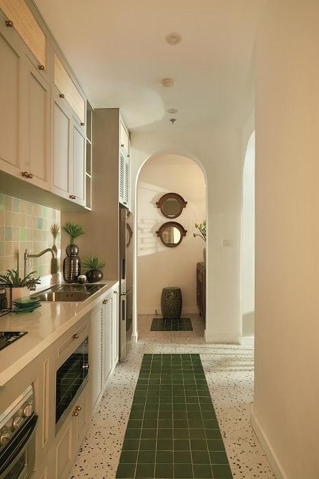 Thiết kế căn hộ 70m2 truyền thống