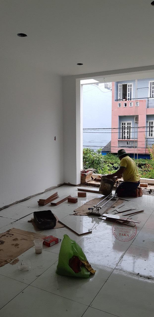 Thi công cải tạo biệt thự phố 2 tầng 8m | Chú Sơn Quận 2
