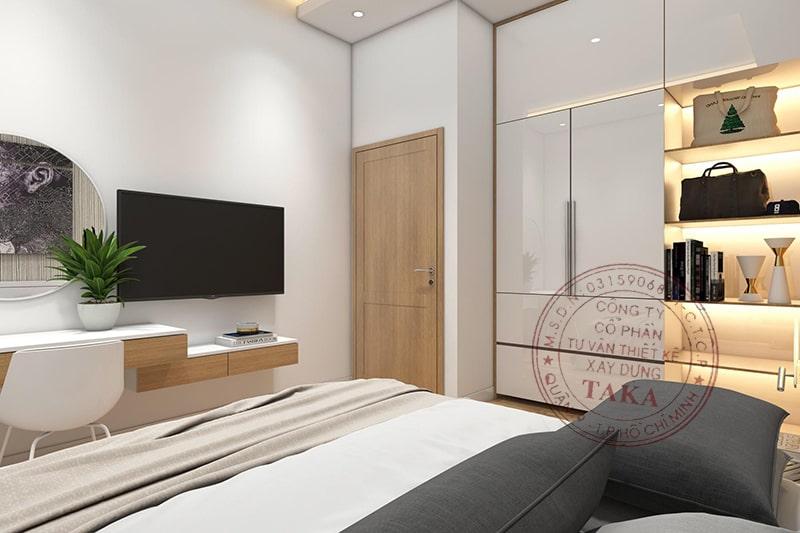 Thiết kế nội thất nhà phố 3 tầng 4,5x25 m2 hiện đại
