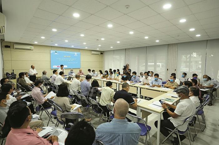 """Hội thảo """"Quy tắc ứng xử nghề nghiệp của kiến trúc sư hành nghề"""" diễn ra tại Văn phòng Hội Kiến trúc sư TP.HCM"""