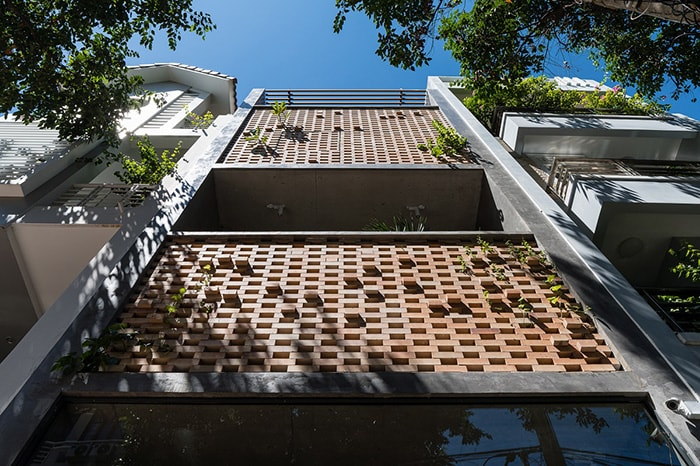 Mẫu nhà phố 4 tầng 68m2 mặt tiền hướng tây
