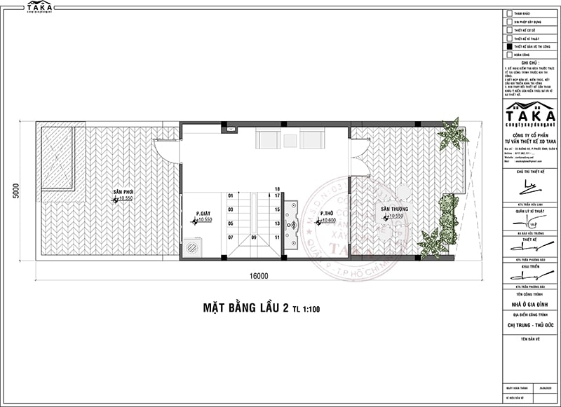 Thiết kế nhà phố 4 tầng 5x16 hiện đại 4 phòng ngủ 1 phòng thờ