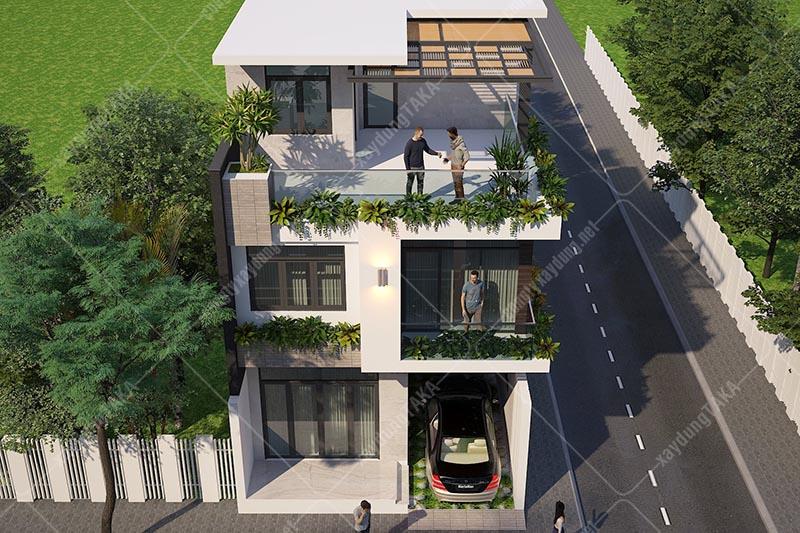Nhà lô góc 2 mặt tiền 7x13m