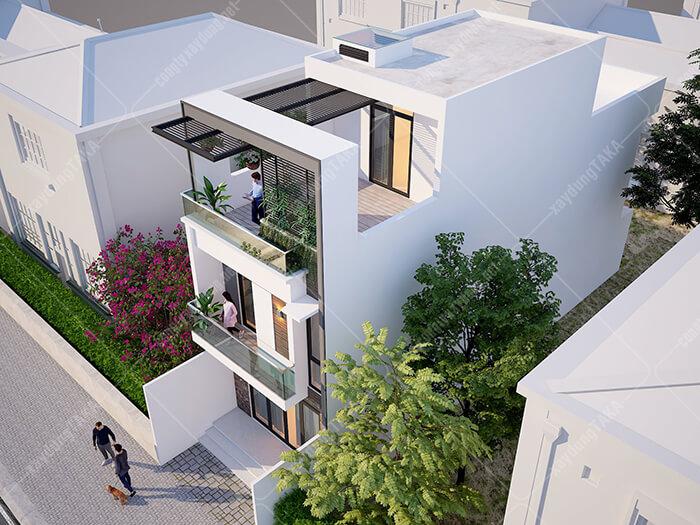 Nhà phố 3 tầng 5x15