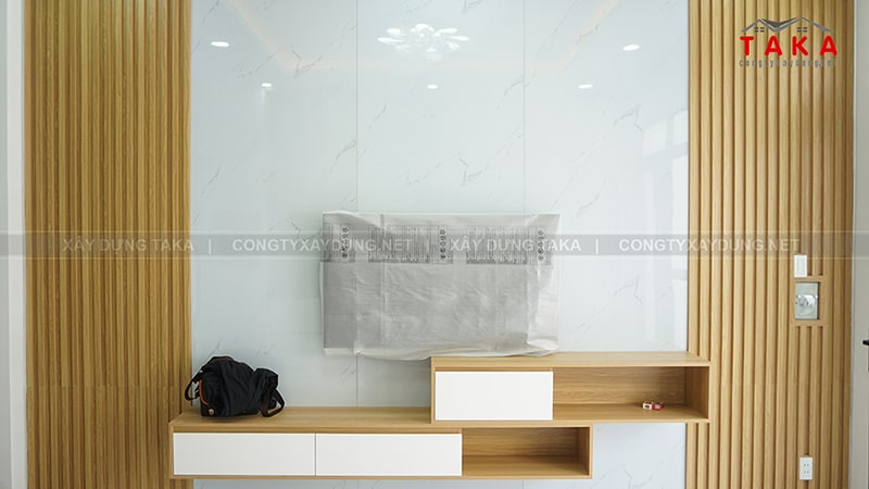 Thi công nhà phố 1 trệt 2 lầu 4x16m Anh Tín - Thủ Đức